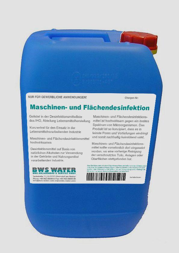 MASCHINEN- UND FLÄCHENDESINFEKTIONSMITTEL